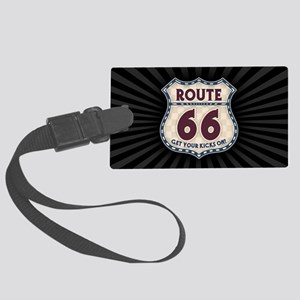 rt66-check-OV Large Luggage Tag