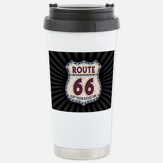 rt66-check-OV Stainless Steel Travel Mug