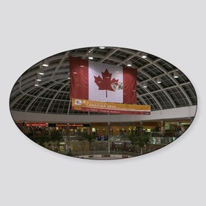 Edmonton: West Edmonton Mall (World Sticker (Oval)