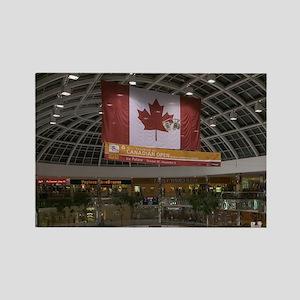 Edmonton: West Edmonton Mall (Wor Rectangle Magnet
