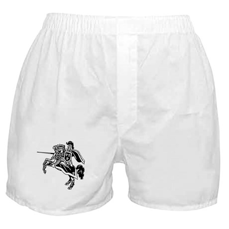 Mounted Knight Boxer Shorts