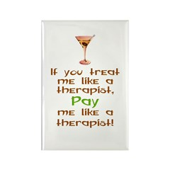 Bartender/Therapist Rectangle Magnet (10 pack)