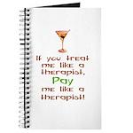 Bartender/Therapist Journal