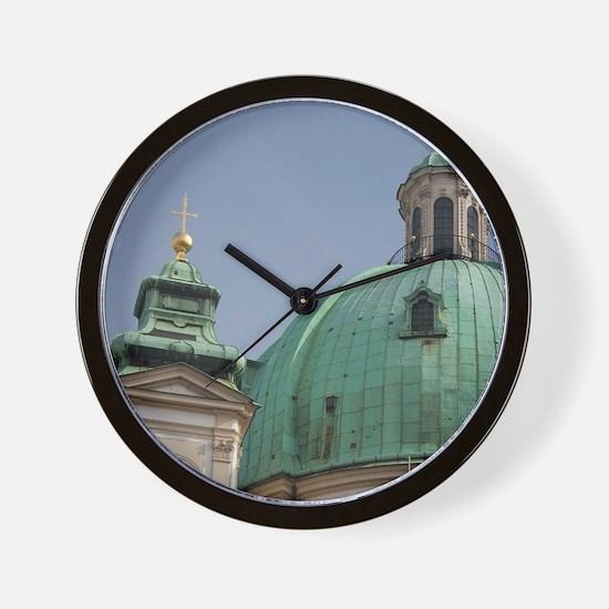 St. Peter's Church, 18th century Baroqu Wall Clock