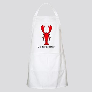 L is for Lobster BBQ Apron