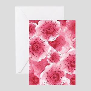 PinkRibThankYPr460ip Greeting Card