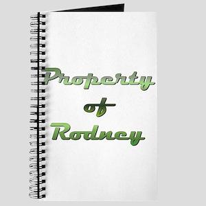 Property Of Rodney Male Journal
