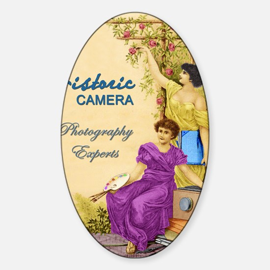 photography experts Sticker (Oval)