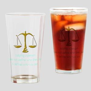 judging_light Drinking Glass