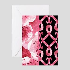 PinkRibThankYPpbJr Greeting Card
