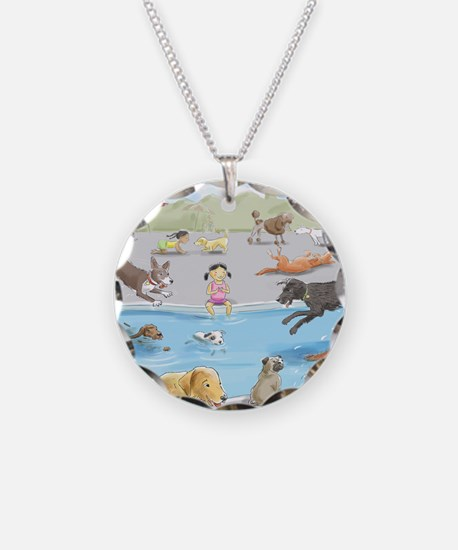 dog_pool_9X12_crp Necklace