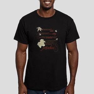 Gatlingburg_White_Back Men's Fitted T-Shirt (dark)