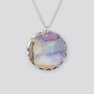 dawn of a new day Necklace Circle Charm