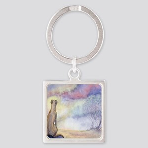 dawn of a new day Square Keychain