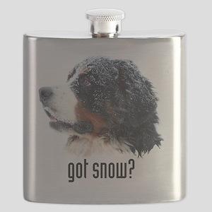got_snow_Kindle sleeve Flask