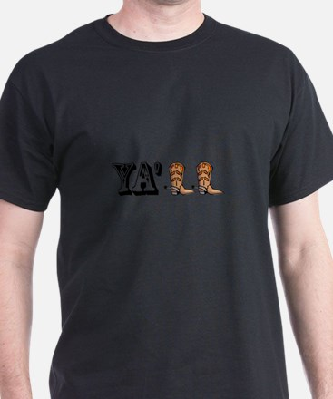 Yall Boots T-Shirt