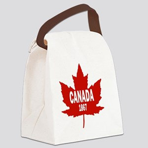 Canada Since 1867 Canvas Lunch Bag