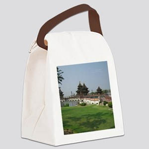 ThailandArchitectureMousepad Canvas Lunch Bag