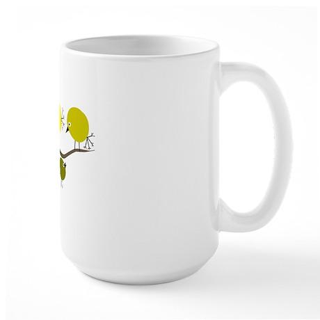 Retro Etsy Eames Birds 5 Large Mug