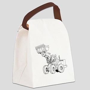 Front End Loader Canvas Lunch Bag