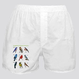 Songbirds of North America Boxer Shorts