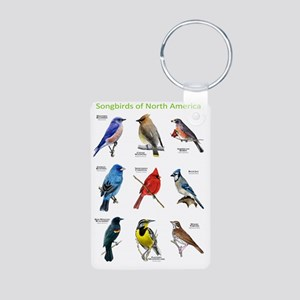 Songbirds of North America Aluminum Photo Keychain