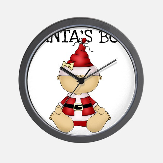 santasboy Wall Clock