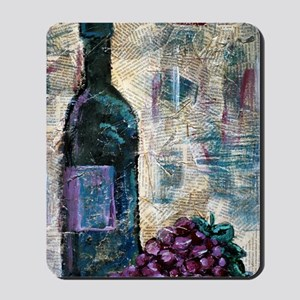 Wine Still Life 4x6 Mousepad