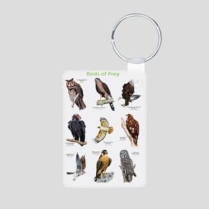 Birds of Prey Aluminum Photo Keychain