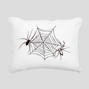 Halloween spiders1 Rectangular Canvas Pillow