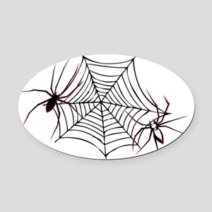Halloween spiders1 Oval Car Magnet