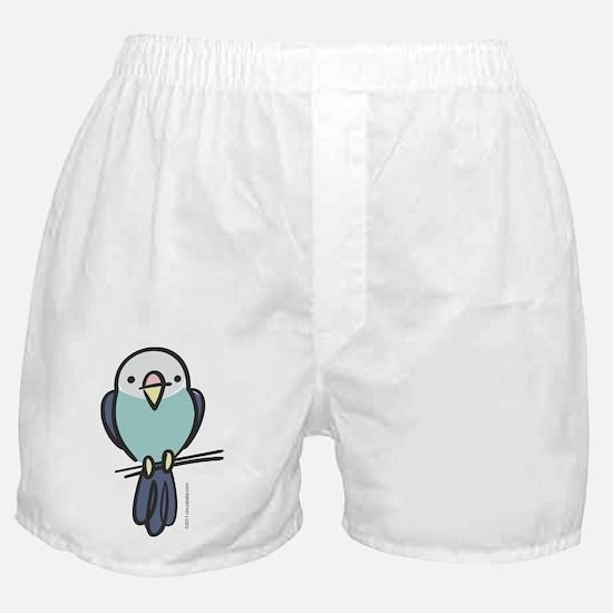 blue_parakeet Boxer Shorts