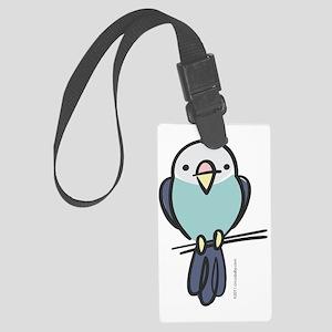 blue_parakeet Large Luggage Tag