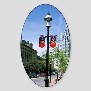 Toronto. Historic Flatiron Building Sticker (Oval)