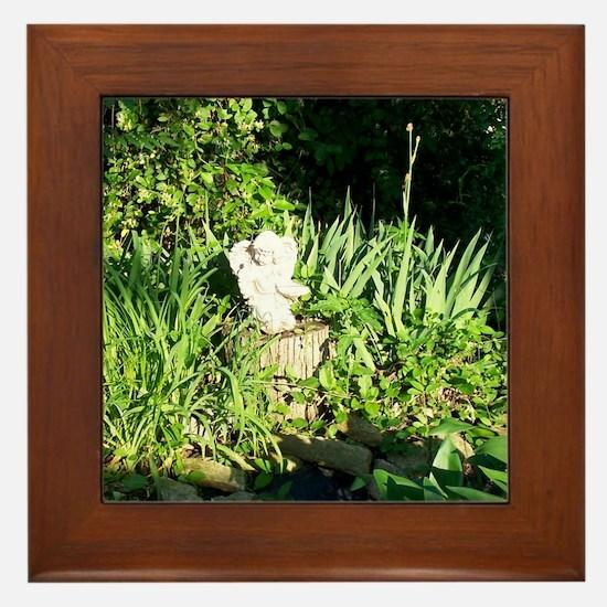 The Angel Framed Tile