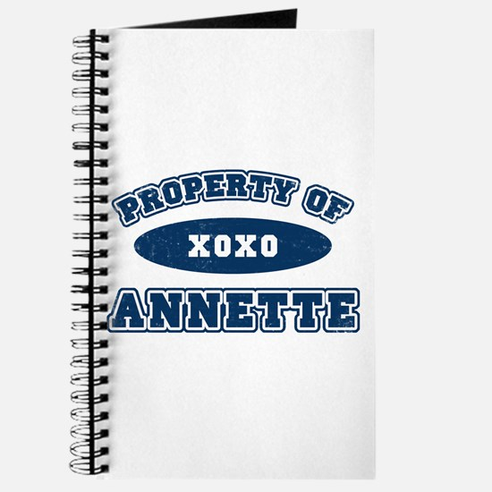"""Property of Annette"" Journal"