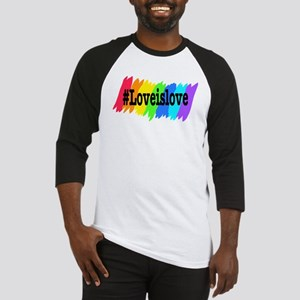 Love is Love Marriage Equality Baseball Jersey