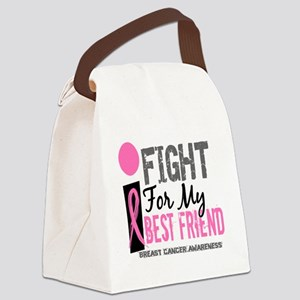 Done I Fight For My Best Friend B Canvas Lunch Bag