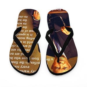 7dd879510347 Political Quotes Flip Flops - CafePress