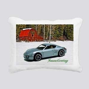Hot Wheels_Porsche Cayma Rectangular Canvas Pillow