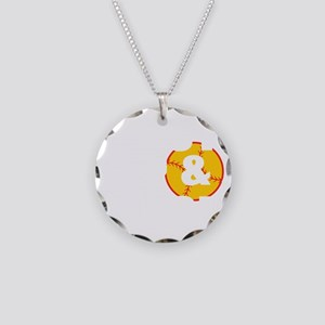 shut up and pitch(blk) Necklace Circle Charm