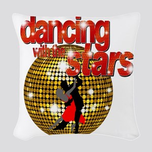 Dancing with the Stars Disco b Woven Throw Pillow