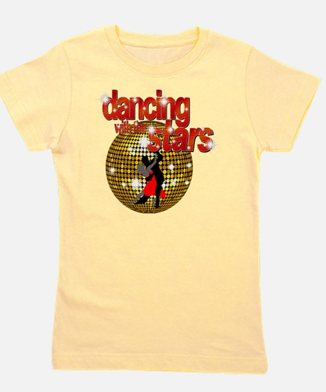Dancing with the Stars Disco ball Dance Girl's Tee
