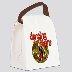 Dancing with the Stars Disco ball Canvas Lunch Bag