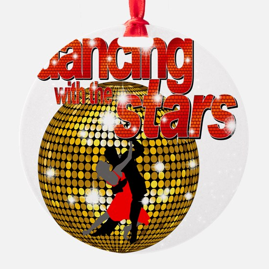Dancing with the Stars Disco ball D Ornament