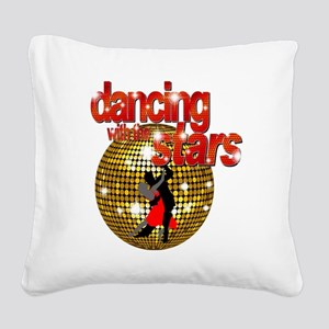 Dancing with the Stars Disco  Square Canvas Pillow