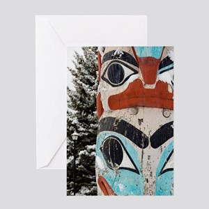 Canada, Alberta, Jasper. Greeting Card