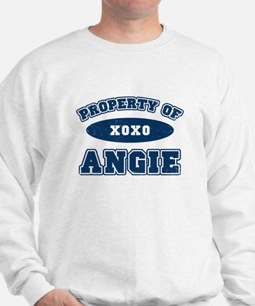 """Property of Angie"" Sweatshirt"