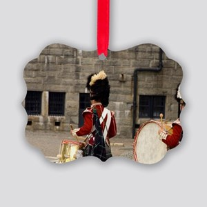 National Historic Site. Reenactme Picture Ornament