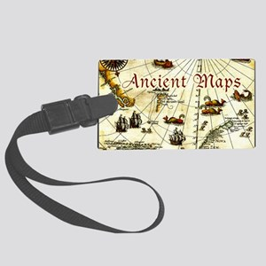 artic-map-calendar-cover-no-date Large Luggage Tag